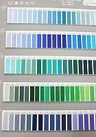 Farbkarte Stickgarnfarben