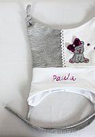 Baby Zipfelmütze mit Namens Stickerei