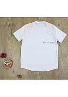 Individuellbesticktes T-Shirt