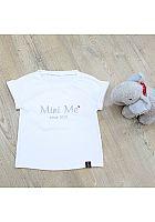 MiniMeSince2018 Shirt weiß